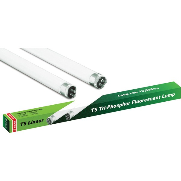 AC0042 T5 Linear Lamp Tri phosphor Fluorescent Bulb HO54 (set of 2 items)