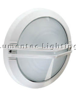BLC0019 Astra Round Outdoor Wall Light with Centre Grille Boluce