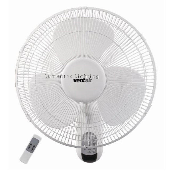 EF0023 ZEPHYR - R - 40cm Remote Controlled Wall Mounted Fan
