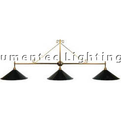 DMS0196 Large Three Light Kitchen Island Pendant Domus