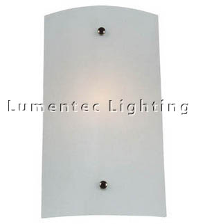 DMS0543 Medium Wall Sconce with Satin Opal Glass Domus