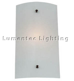 DMS0263 Small Wall Sconce with Satin Opal Glass Domus