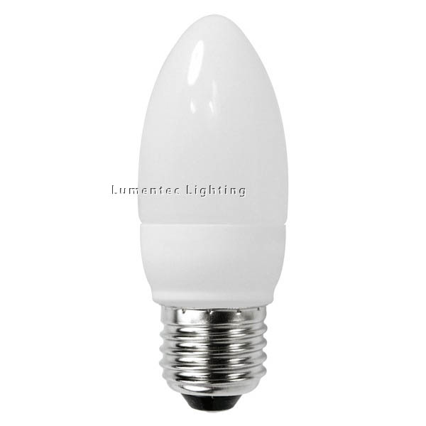 AC0057 Energy Saving Lamp Candle Shape Compact Fluorescent Bulb E27 (set of 2 items)