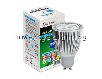 GB0008 9W GU10 240V LED Dimmable Globe Sunny Lighting (Dimmable)