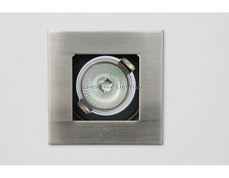 DL0007 Square die-casting aluminum downlights (complete kit)