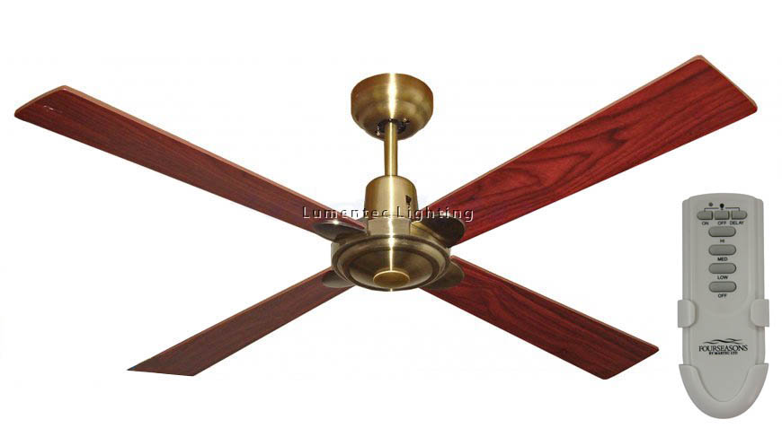 Cf0055 Alpha Ceiling Fan in White or Brushed Nickel or