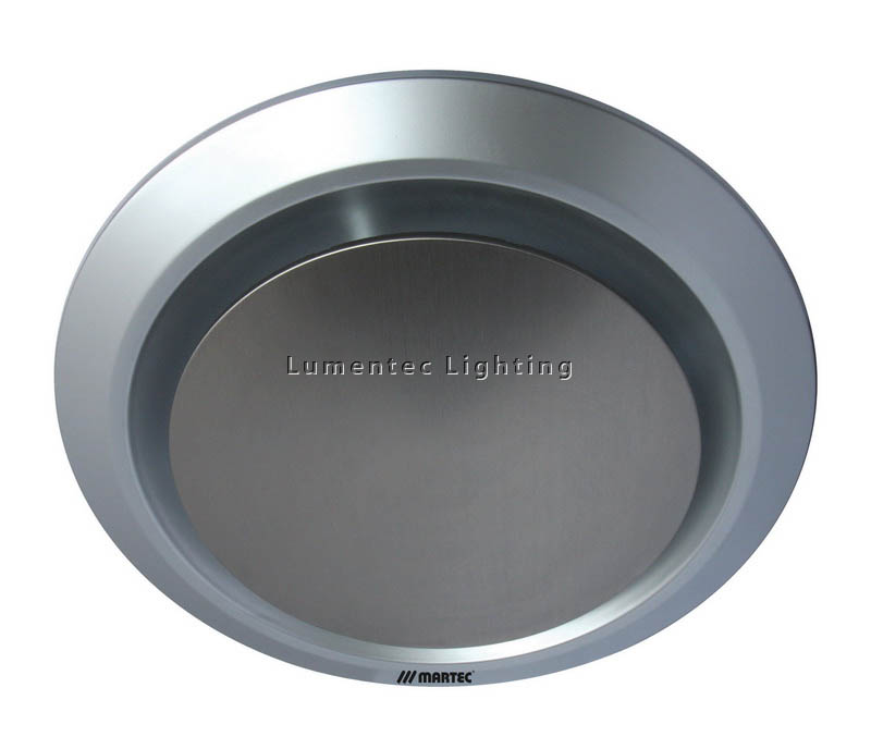 EF0027 Gyro Round 250 mm Exhaust Fan in Silver or White Martec