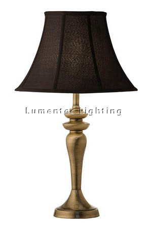 MFD0158 - 153AB Atef Table Lamp - Antique Brass  Height: 610mm (24