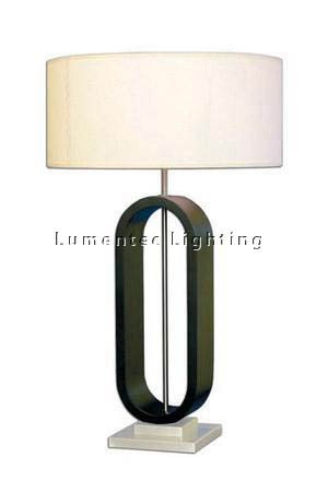 MFD0040 - 204 Hew Table Lamp - Wenge Timber  Height: 735mm (29