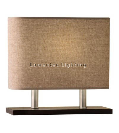 MFD0096 - 234 Harper Table Lamp - Wenge Timber  Height: 355mm (14