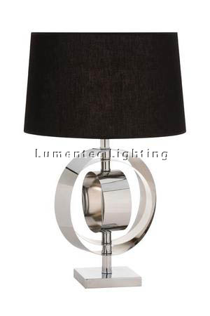 MFD0094 - 439 Circa Table Lamp - Polished Chrome  Height: 690mm (27