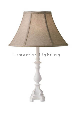 MFD0146 - 543 Lana Table Lamp - Antique White  Height: 510mm (20