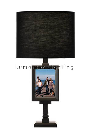 MFD0174 - 609 Dede - Table Lamp - Matt Black Photo Frame Table Lamp height: 640mm (25
