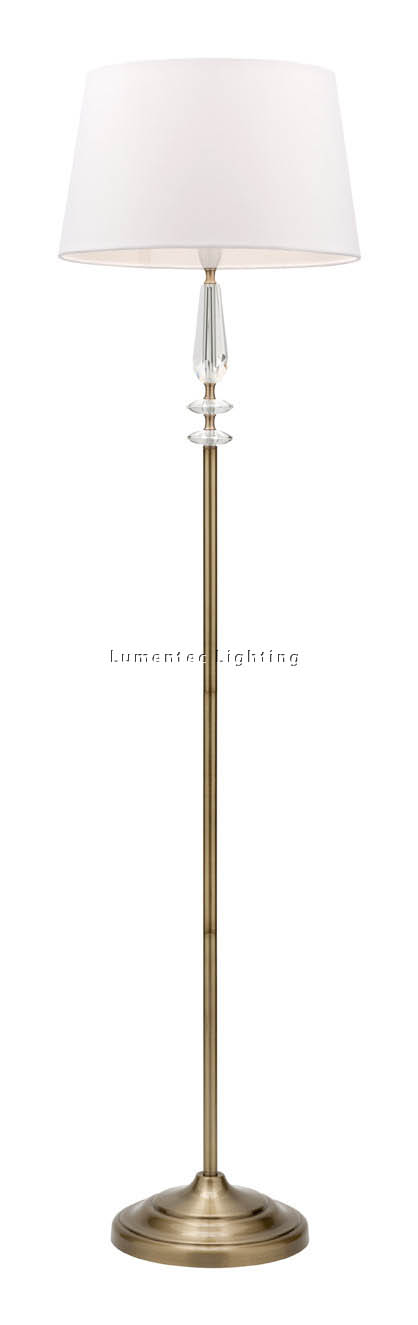 MER0740 Loren Crystal Floor Lamp Mercator