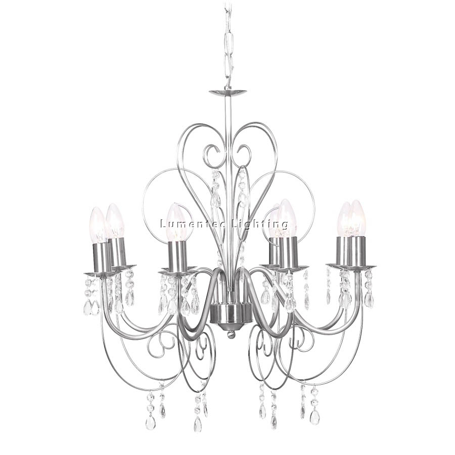 MER0071 Medina Eight Light  Chandelier Mercator