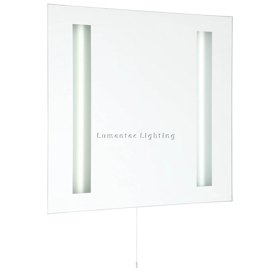 MER0493 Tate Wall Light in Silver / Mirror Mercator