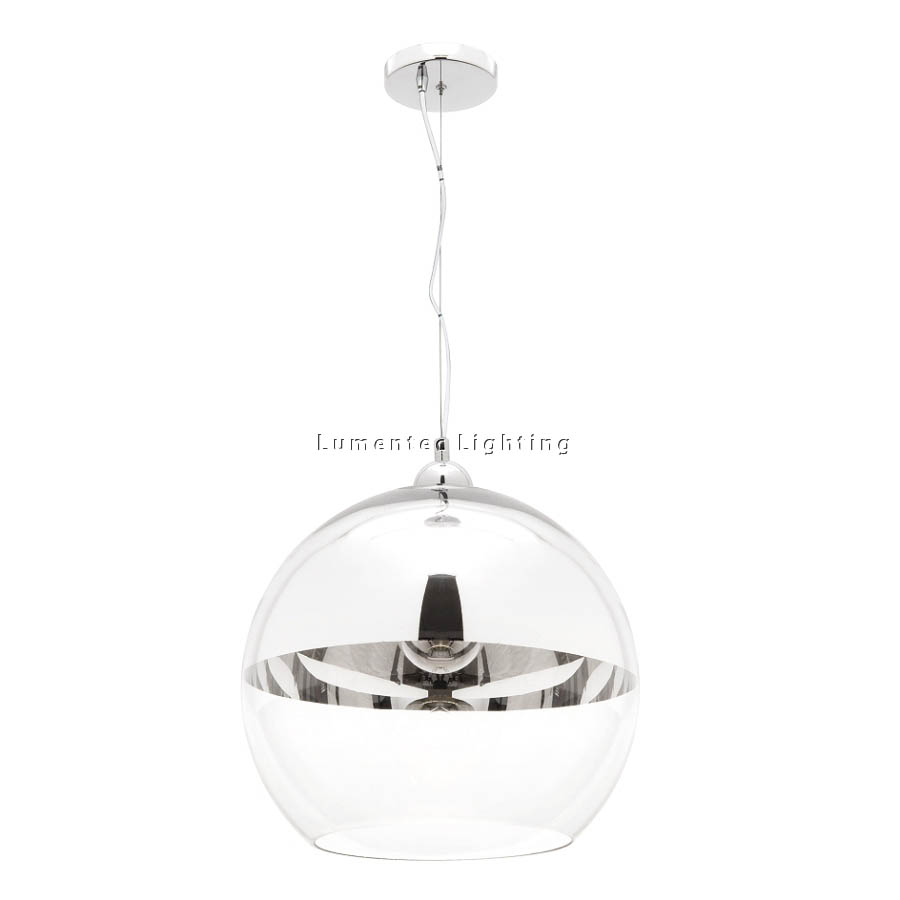 MER0105 Xanadu One Light Pendant in Chrome Mercator