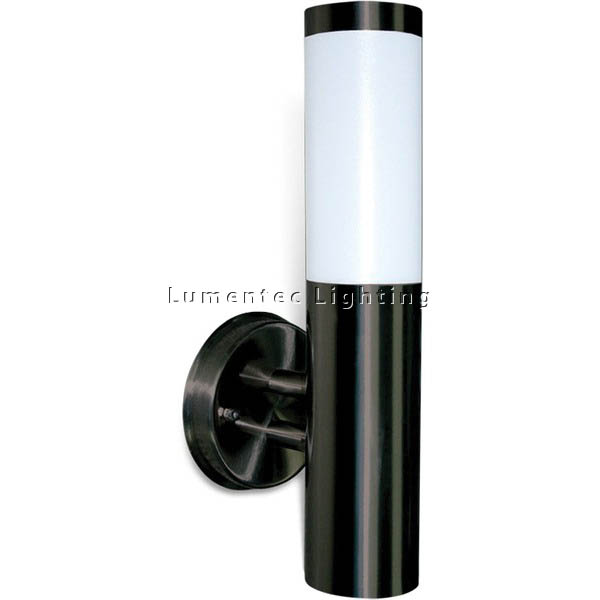 WL0078 Murray I Wall Light in Black or Stainless Steel SE7009