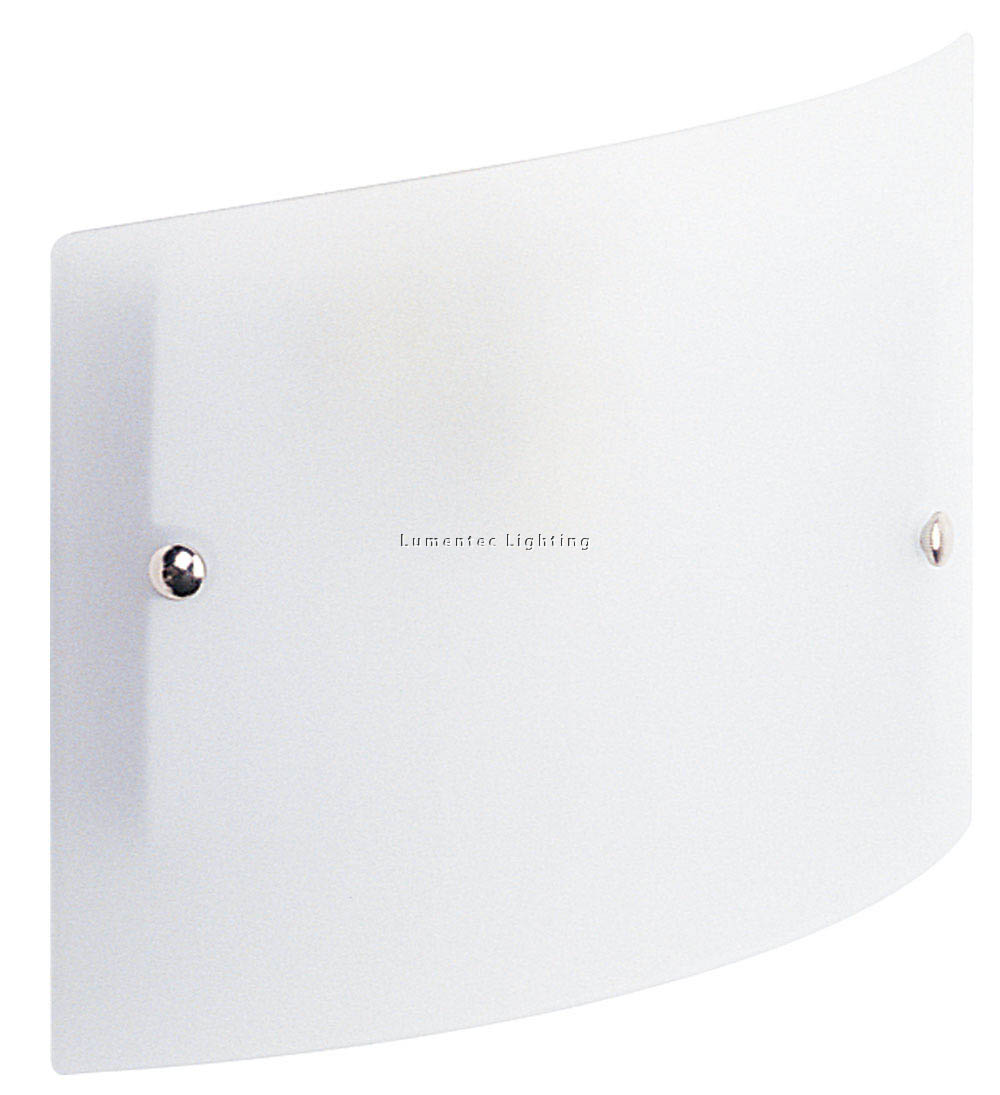 ORL0240 Duo Wall Bracket Suede White/Chrome Oriel