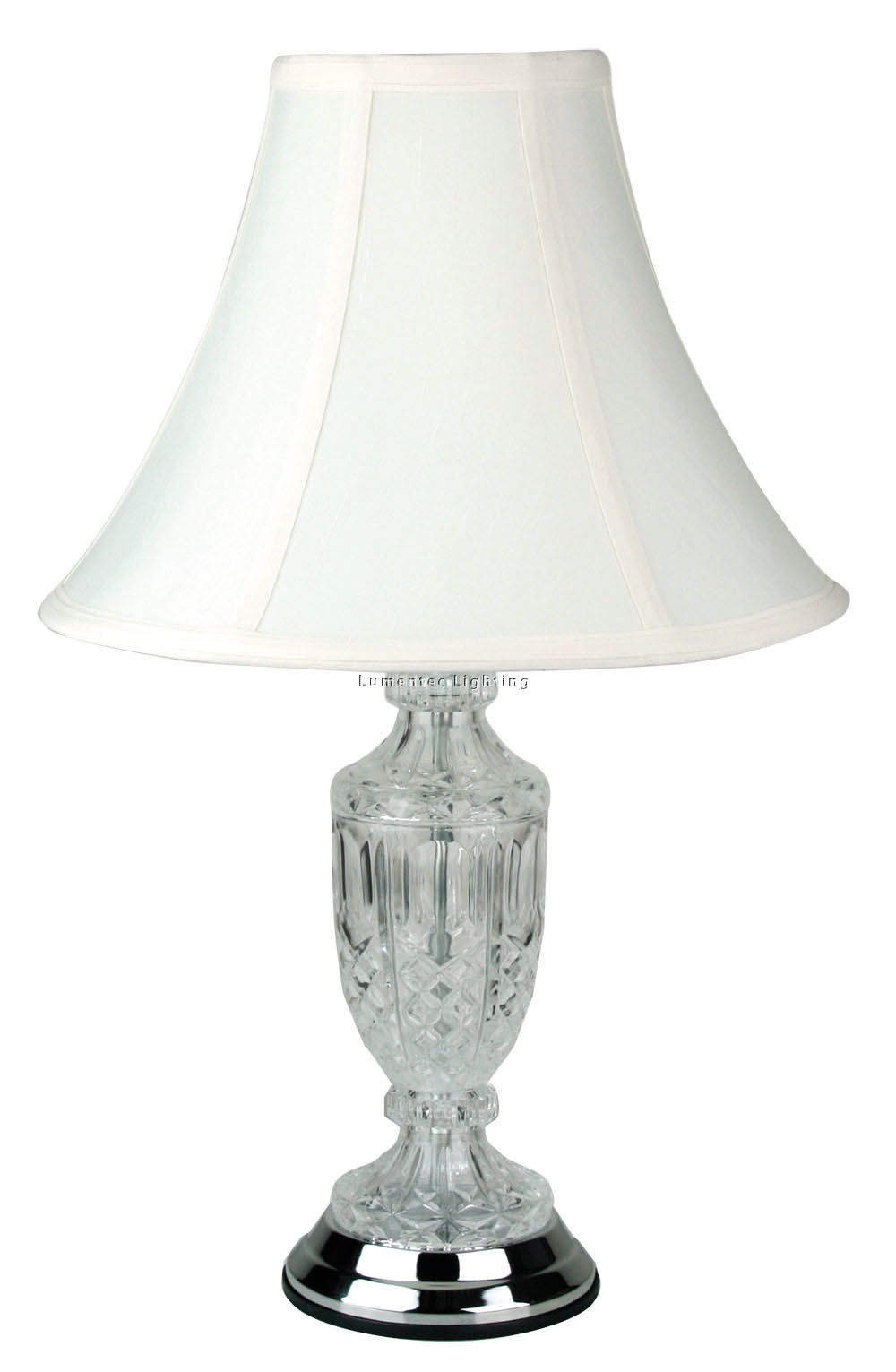 ORL0769 Krysta Small Table Lamp in Chrome Oriel
