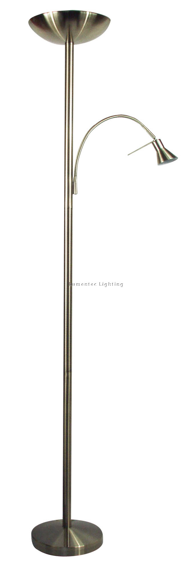 ORL0580 Rialto Floor Lamp in Antique Brass Oriel