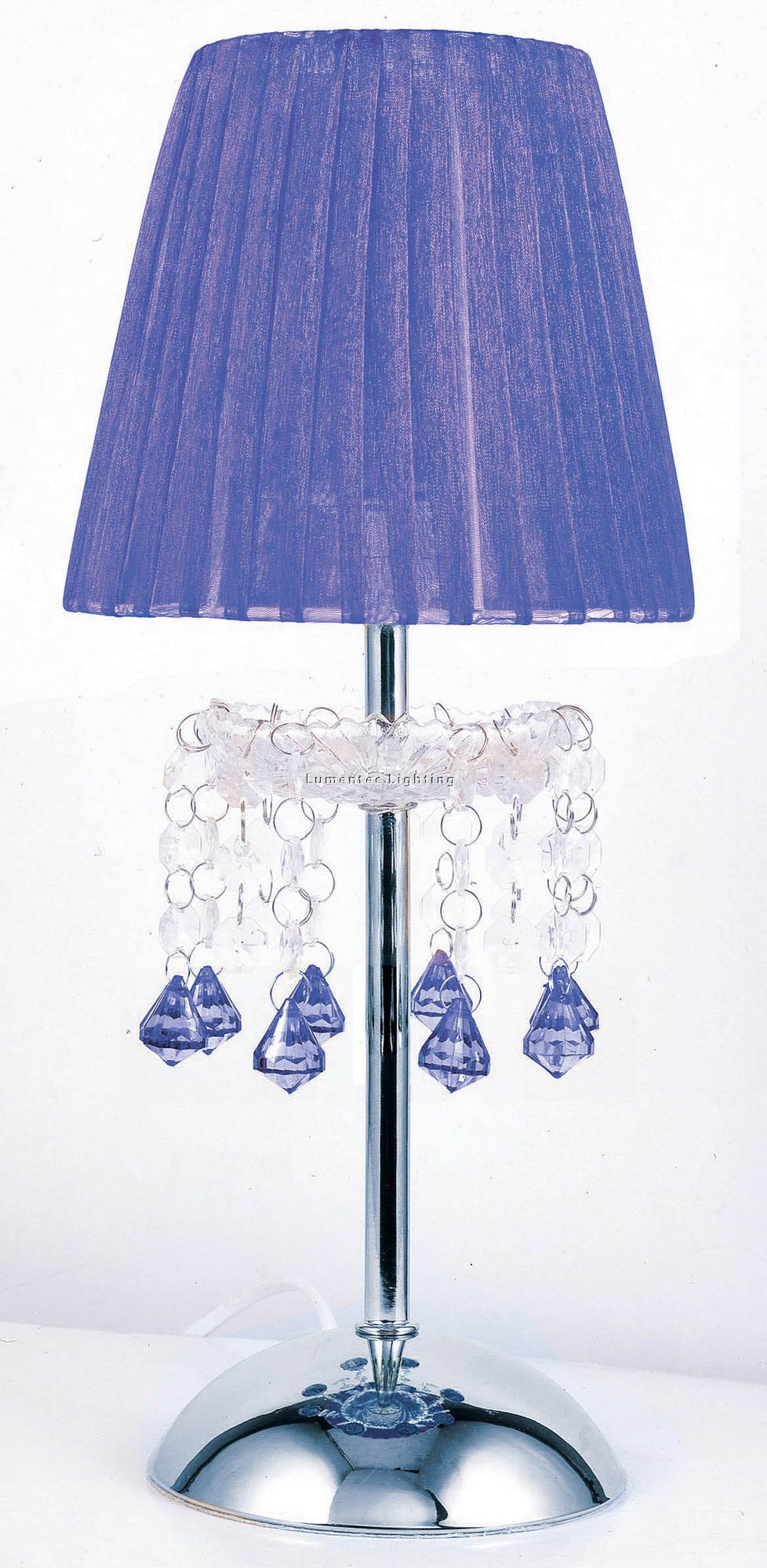 ORL0012 Tizz Touch Lamp in Blue (Purple) Oriel