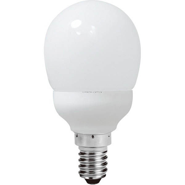 SUN0292 Energy Saving Lamp Fancy Round Compact Fluorescent Bulb E14 Sunny Lighting
