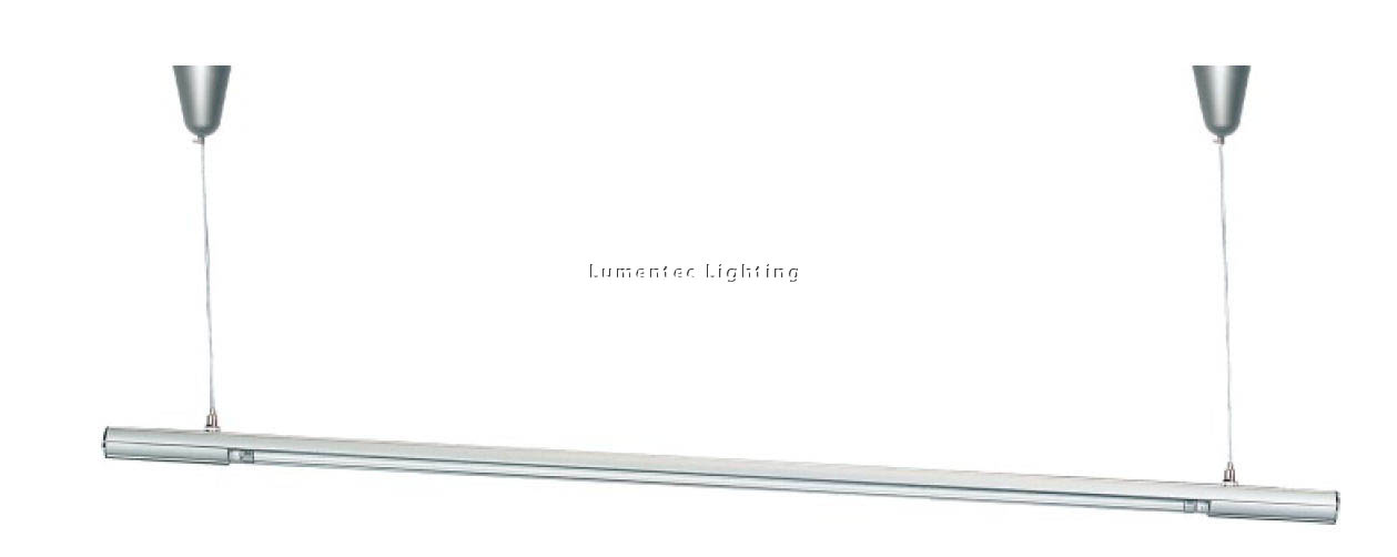 SUN0002 Princess Modern T5 Fluorescent Fitting Light in Silver Sunny Lighting