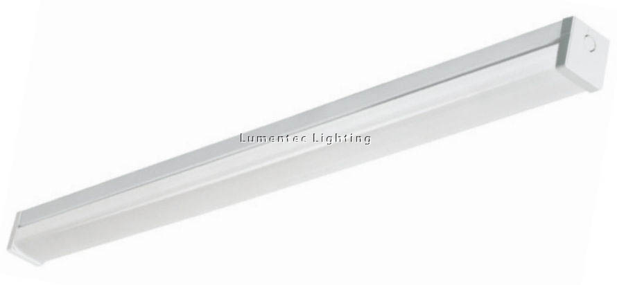 SUN0145 Reeded Diffused Batten Strip Light in Powder Coated Sunny Lighting