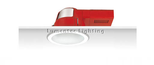 SUN0320 Uni PL S.Frost Reflector Horizontal Downlight with Frosted Glass Cover Sunny Lighting
