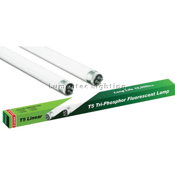 AC0043 T5 Linear Lamp Tri phosphor Fluorescent Bulb L8 (set of 4 items)