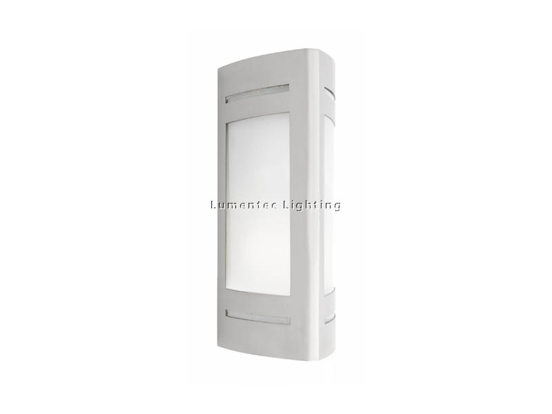 WL0098 Linear 1 Light Outdoor Wall Light in 304 or 316 Stainless Steel Cougar